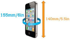 vodotěsné pouzdro na inteligentní telefon