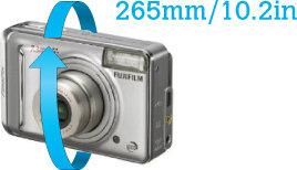 orientační rozměry předmětu vloženého do pouzdra 418 Small Camera Case